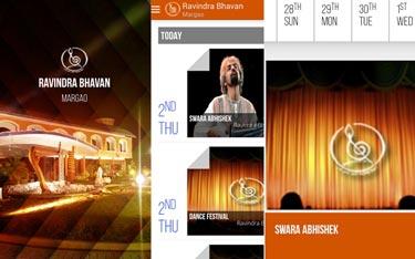 Kaavay Portfolio | Website - Ravindra Bhavan Vasco