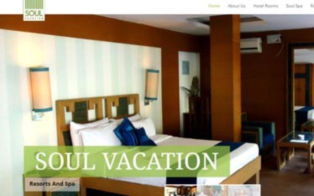 Kaavay Portfolio   Hotel Booking Website - Soulvacation