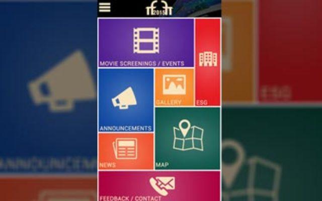 Kaavay Portfolio | Mobile Application - IFFI 2015