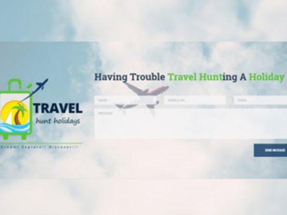 Kaavay Portfolio | Travel Planning Website - The Travelhunt
