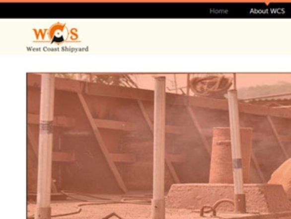 Kaavay Portfolio | Ship Building Website - West Coast Shipyard