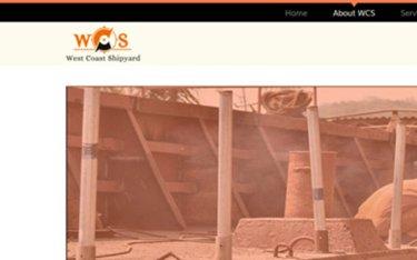 Kaavay Portfolio   Ship Building Website - West Coast Shipyard